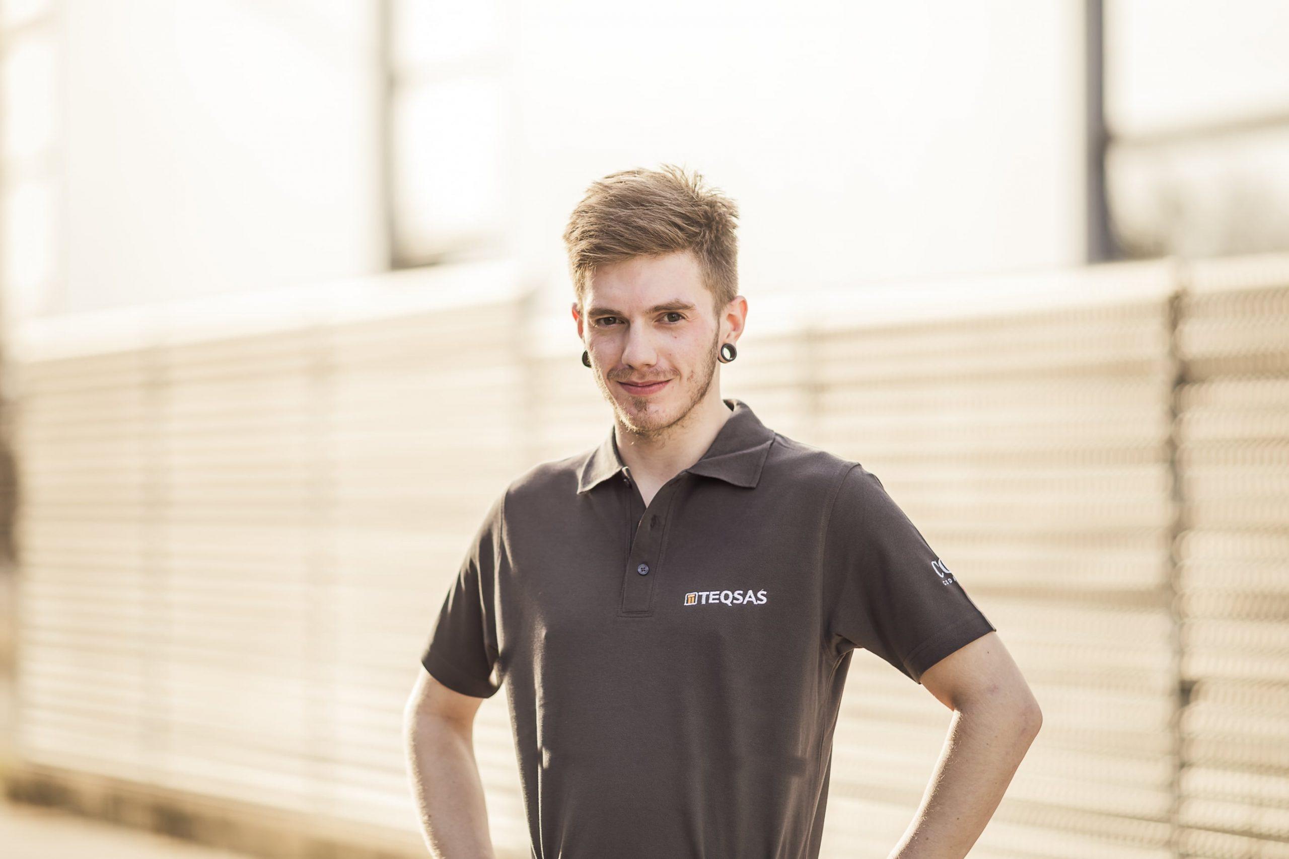 Teqsas GmbH Team Gianluca Keßler Servicetechniker