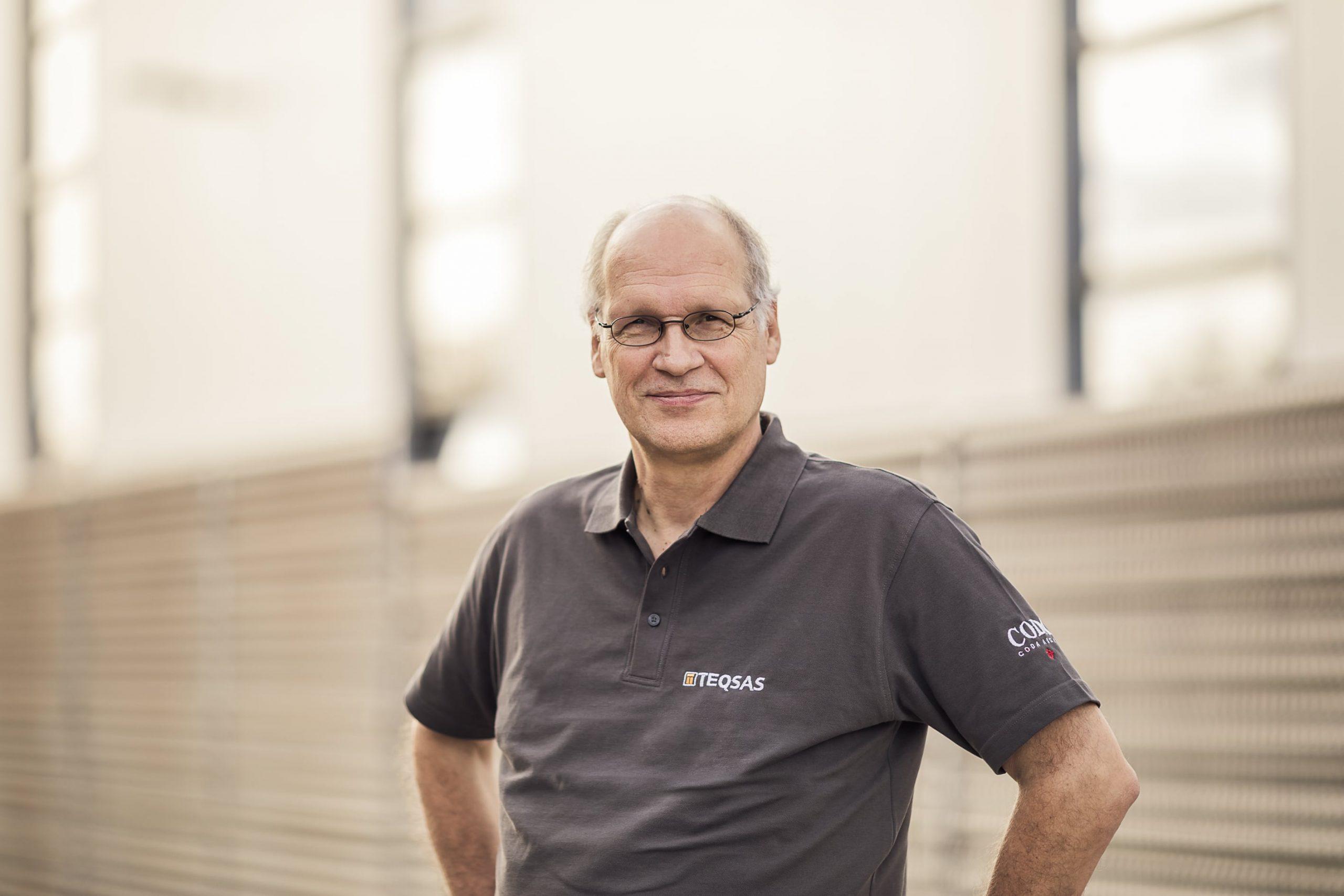 Teqsas GmbH Team Jürgen van Thiel Geschäftsführer