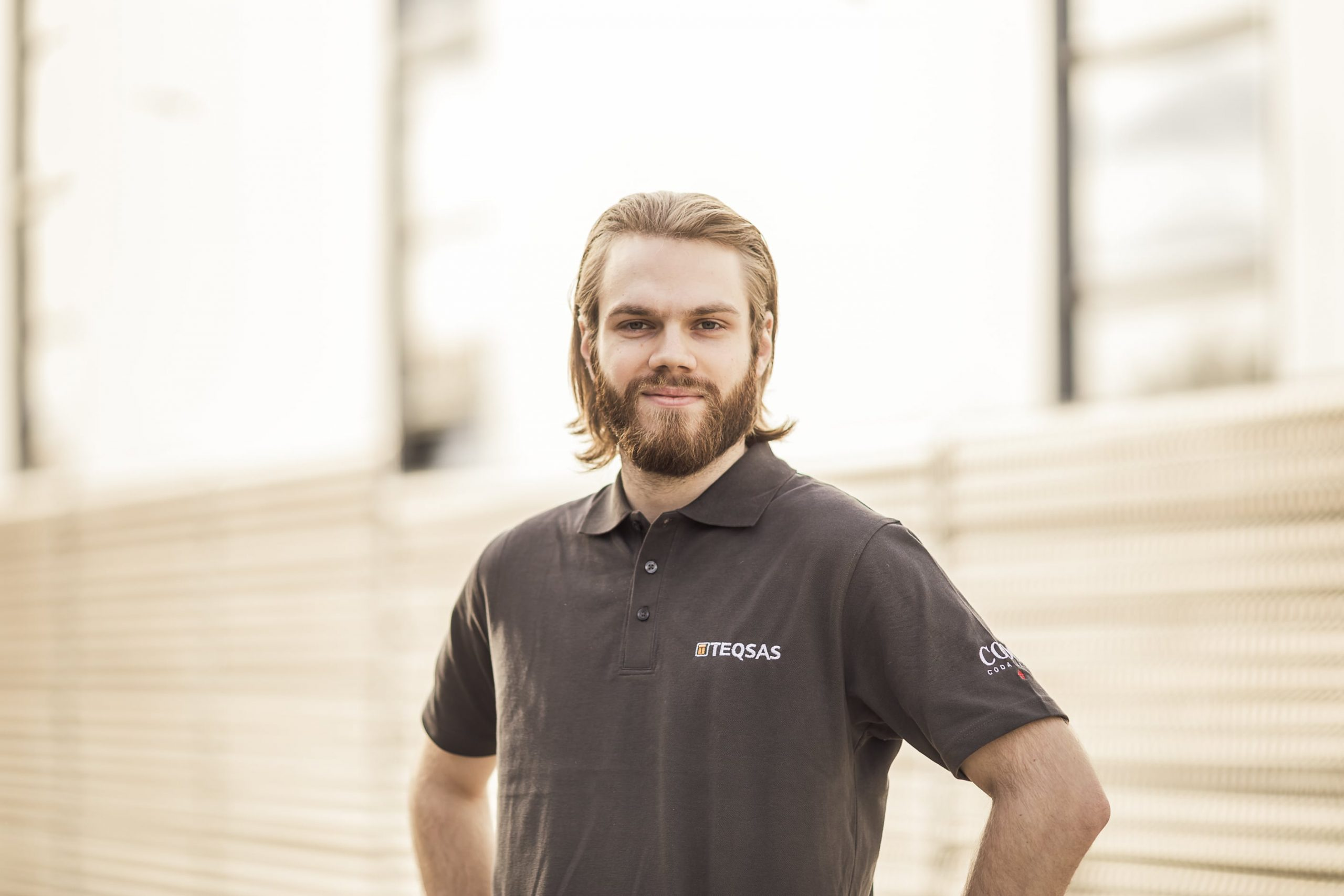 Teqsas GmbH Team Marius Hippe Auszubildender Elektroniker für Geräte und Systeme