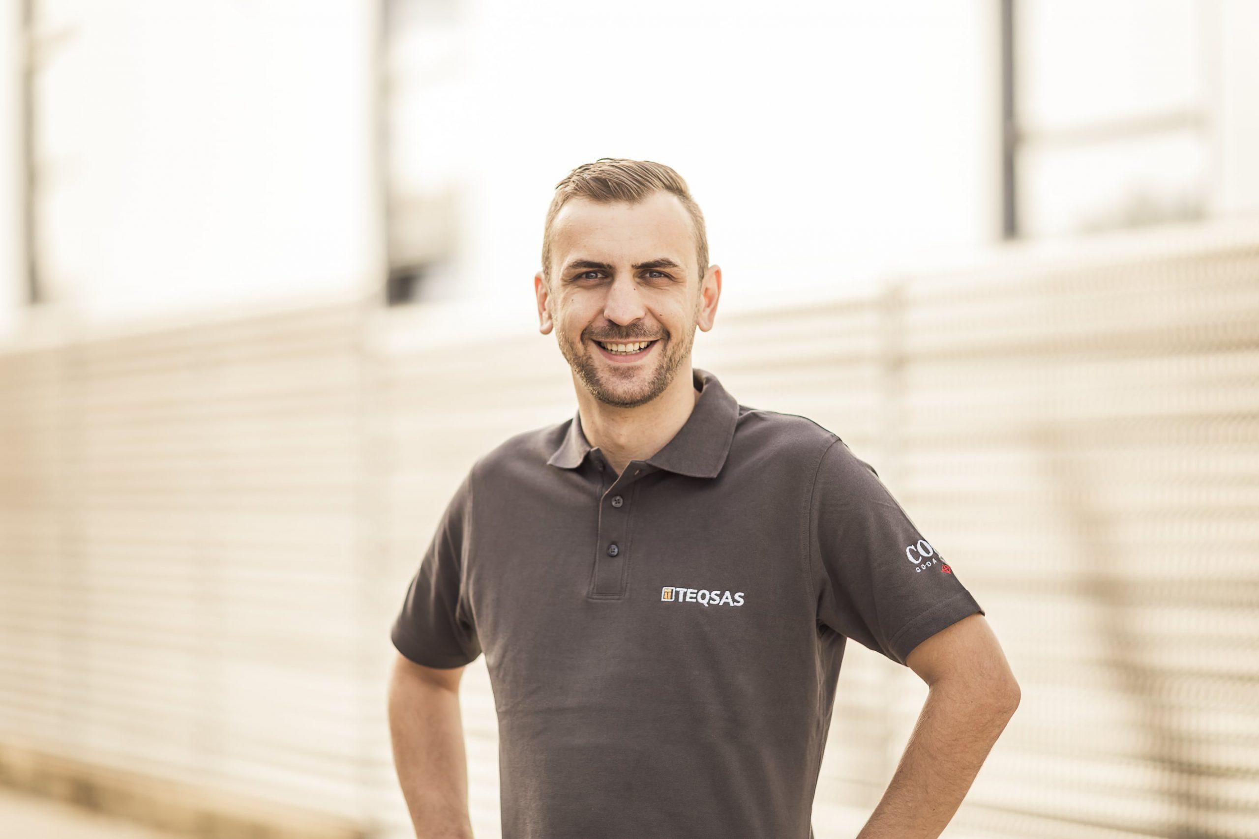 Teqsas GmbH Team Mustafa Muminhodzic Exportmanager TEQSAS Products