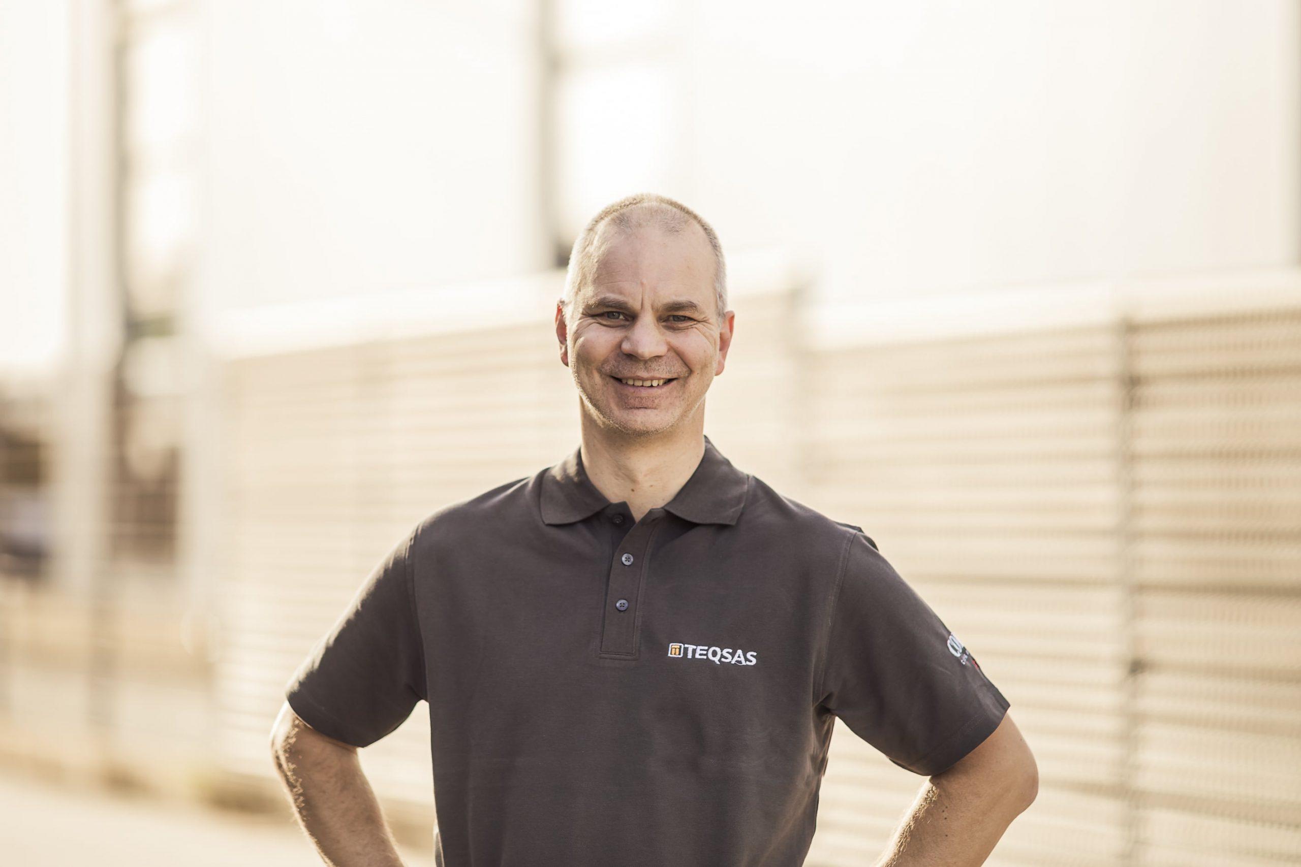 Teqsas GmbH Team Rainer Laschet Technischer Leiter